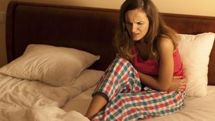 Így aludjon, ha menstruációs görcsök gyötrik