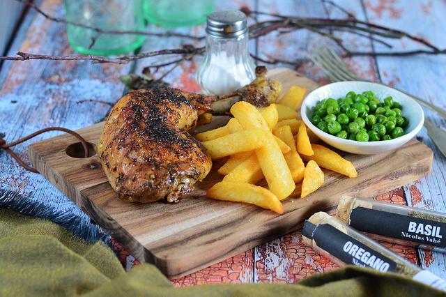 fűszeres csirkecombok