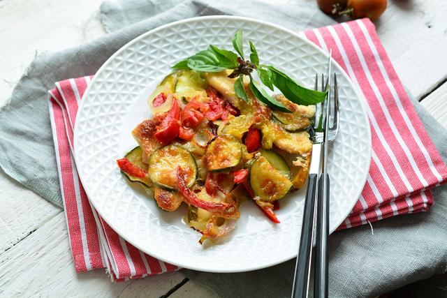 csirke zöldségágyon 1