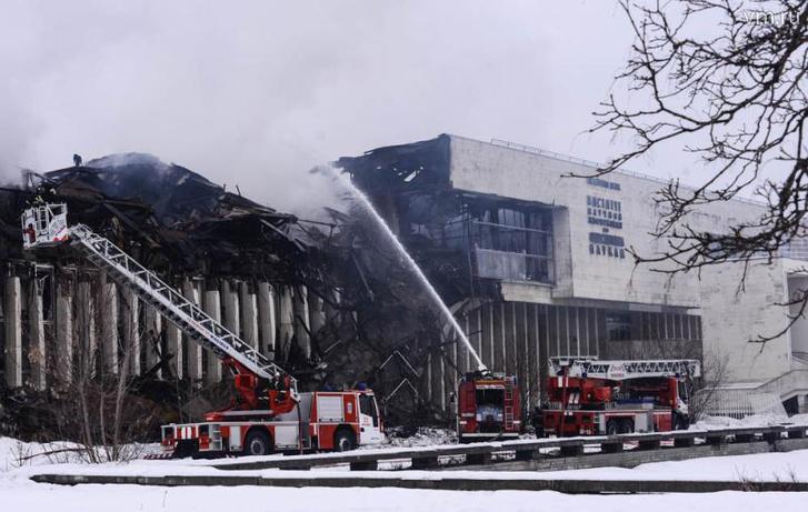 INION RAN Könyvtár Moszkva - 2015. január