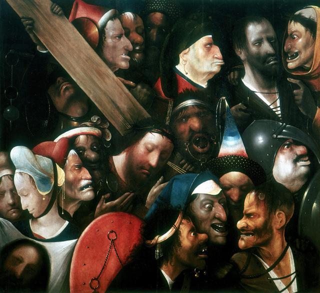 Bosch a Keresztvitel című festményét a világ egyik leghátborzongatóbb alkotásai között tartják számon.