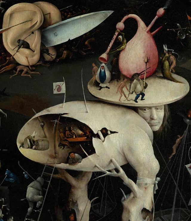 Egyes elemzők szerint a tojáshéj-ember maga Bosch.