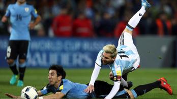 Messi nélkül még a vb-ről is lemaradhatnak az Argentínok