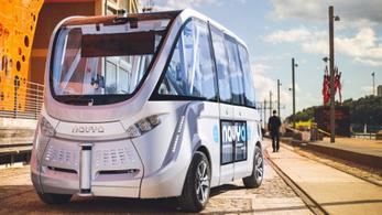Jönnek az önvezető buszok a városi közlekedésben