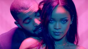 Rihanna és Drake terepmintás cápát varrattak magukra