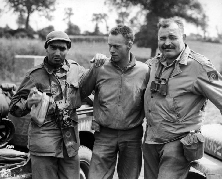 Robert Capa és Ernest Hemingway