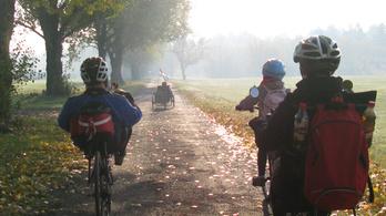 Kerékpáros álomutak a Dunánál