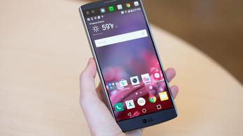 Két képernyő, hifi hangzás: bemutatták az LG csúcstelefonját