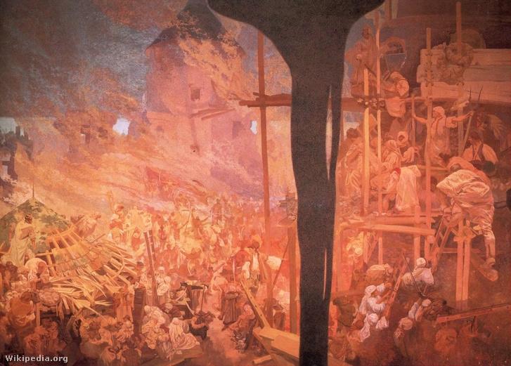 Mucha defense of Szigetvar