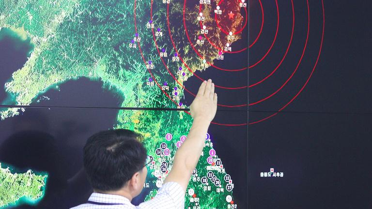 Észak-Korea eddigi legnagyobb atombombáját robbantotta fel