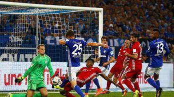 A Schalke ellen elmaradt a Bayern parádé