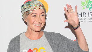 Shannen Doherty jól halad a mellrák elleni küzdelemm