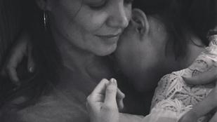 Katie Holmes le sem tagadhatná, hogy mindennél jobban szereti lányát