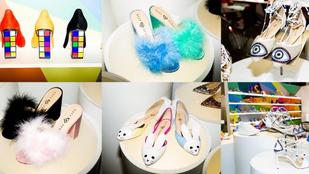 Hordaná Katy Perry bolondos, de megfizethető cipőit?