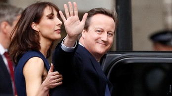 David Cameron távozik a politikából