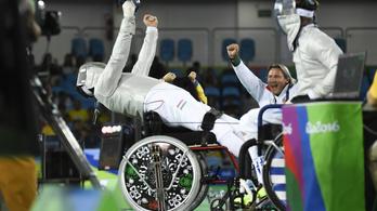 Már hét éremnél jár a magyar paralimpiai csapat