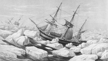 170 éve eltűnt, legendás brit felfedezőhajót találtak meg