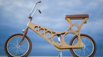 Bárki csinálhat magának fa kerékpárt