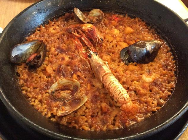 Paella, csak a herkentyűk kedvelőinek