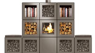 Környezetbarát kályhát tervezett Philippe Starck