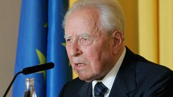 95 éves korábban meghalt a volt olasz államfő