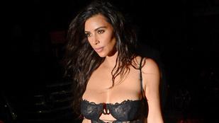 Instahíradó: Kim Kardashian már megint pucér