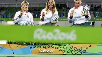 A női tőrcsapat is ezüstöt szerzett a paralimpián