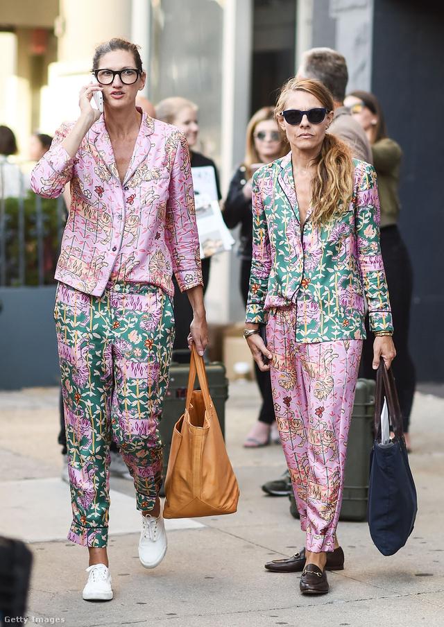 Felkapott volt a pizsama vonal és a rózsaszín New Yorkban.