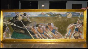 Végig az orruk előtt volt az elveszett Vaszary-festmény