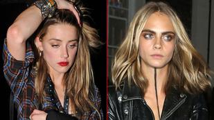 Amber Heard megint nőbe szerelmes?