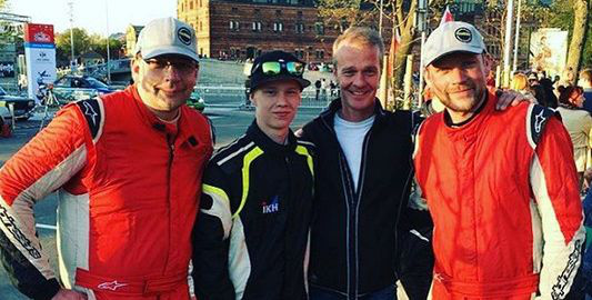 Janis Vorobjovs, Kalle Rovanpera, Harri Rovanpera (balról jobbra)
