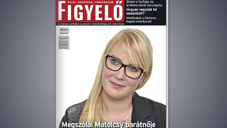 Megszólalt Matolcsy barátnője: Pozitív, hogy sok hír szól rólam