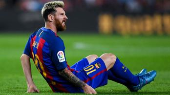 Messi hetekre kidőlt a Barcelonából