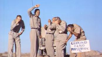 Önként álltak az atombomba alá