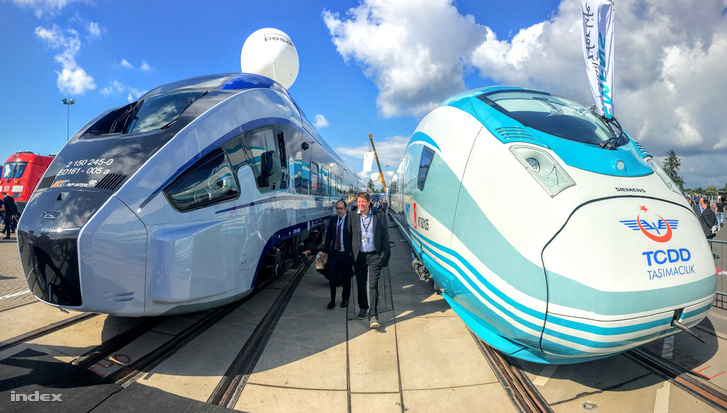 A Pesa Dart és a Siemens Velaro TR