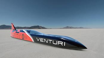 Rekordot döntött a világ leggyorsabb elektromos autója