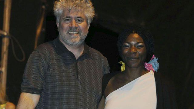Pedro Almodóvar és Concha Buika