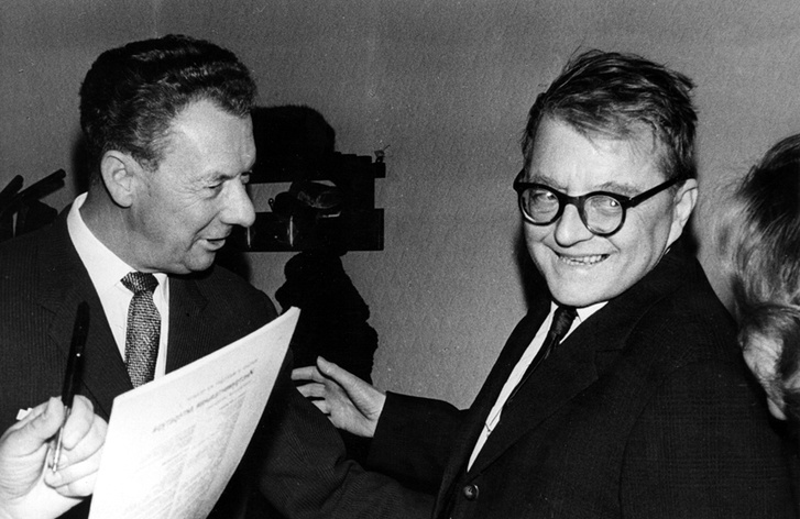 Benjamin Britten és Dmitrij Sosztakovics