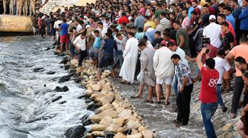 Százötven ember fulladt a tengerbe Egyiptomnál