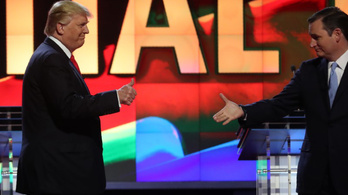 Ted Cruz bejelentette, hogy Trumpra fog szavazni