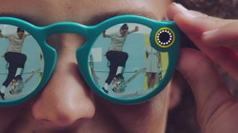 Videórögzítő szemüveget ad ki a Snapchet