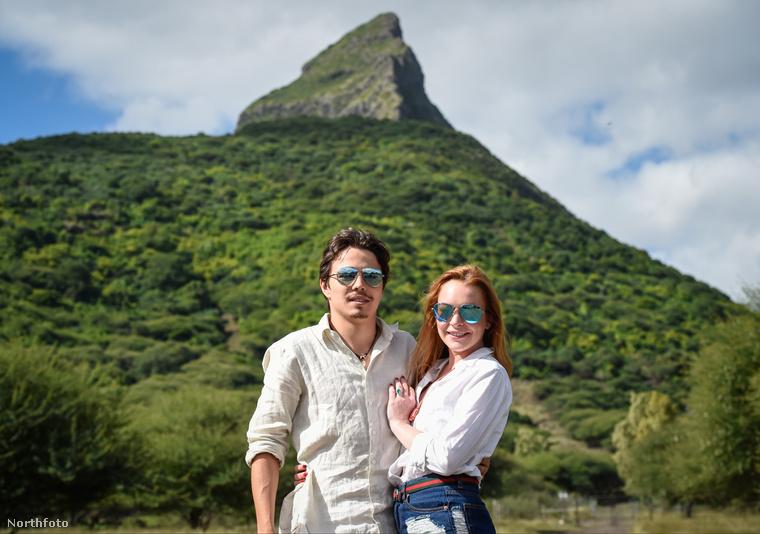 Egor Tarabasov és Lindsay Lohan