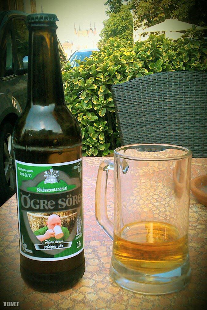 Az első találkozásunk az Ogre sörrel 2013. nyarán, Marosvári Laci barátai csinálták a legendás képet, ami a címkén szerepel.