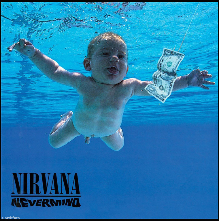 A Nevermind című album borítója
