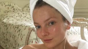 Instahíradó: Mihalik Enikő smink nélkül is jól érzi magát a bőrében