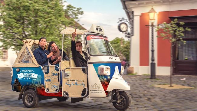 Ingyenes tuktukozással és segway-túrával ünnepli Budapest a turizmus világnapját