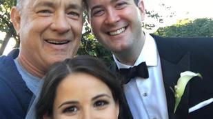 Tom Hanks kocogás közben tett emlékezetessé egy esküvőt