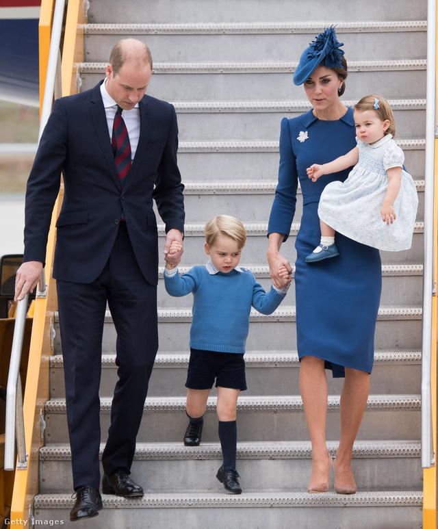 Ilyen tip-top állapotban szállt le a királyi család négy tagja Kanadában.