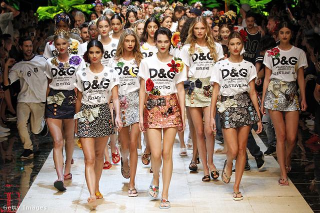 Így jár majd egy Dolce & Gabbana rajongó 2017 első felében.