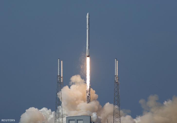 A Space X Falcon 9 rakétája.